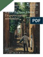 Expositions Willem Bastiaan Tholen et Gérard de Palézieux - Fondation Custodia Paris