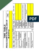 combined time table of acc pdtd&cc pdtdm pgdtdcc.xlsx