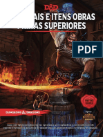 D&D 5E - Equipamentos - Materiais e Itens Obra Prima Superiores