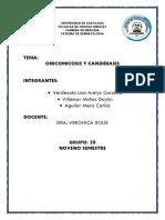 Candidiasis y Onicomicosis