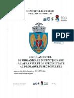 Regulamentul de Organizare Şi Funcţionare Al Aparatului de Specialitate Al Primarului Sectorului 2 - 12.02.2019 (5)