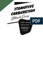 Automotive Carburetion
