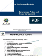 MSDP-02-Commencing Project and Scope-LV1.ppt