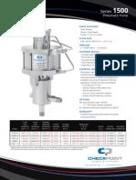 1500 Pneumatic Pump