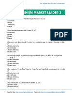 Trac Nghiem Market Leader 3