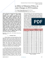 Simultaneous Effect of Monetary Policy on Macroeconomic Changes in IVI Countries