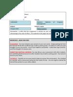 Miguel Malaver S40056005 Program Risk Assessment 1