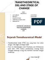 The Transtheoretical Model and Stage of Change