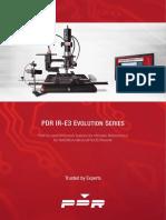 PDR IR-E3 Datasheet