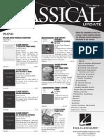 Update Hal Leonard Piano Fall 2012