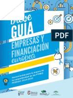 Guia PYMES Financiación Europea