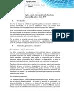 Guía Metodológica Para La Elaboración de Indicadores_Resumen Ejecutivo