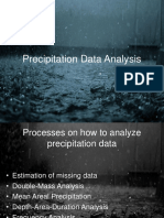 Precipitation Data Analysis