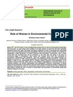 Human Environment Role of women