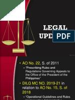 Legal Updates April 2019