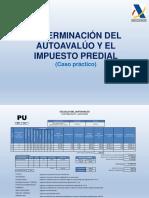 Determinacion Del Impuesto Predial - Caso Practivo