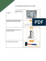 Materiales para control de  Calidad del concreto