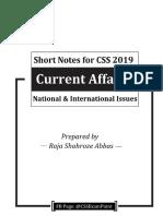CA 2019 Short Notes