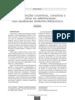 Papel Das Funções Cognitivas, Contivas e Executivas Para a Aprendizagem