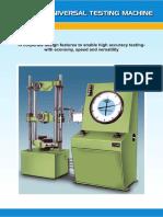 Universal Testing Machines (UTM)