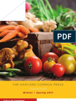The Harvard Common Press Winter - Spring 2011 Cookbook Catalog