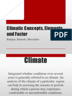 Climatic Concepts, Elements and Factor.pptx