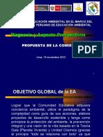 Conferencia Magistral 2. Balance actual de la educación ambiental en Perú