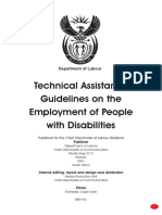 Guidelines of employment