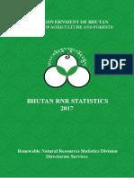 Bhutan RNR Statistics-2017