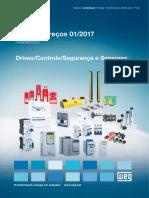 Lista de Preços Drives Controls Seguranca 01-2017 Web