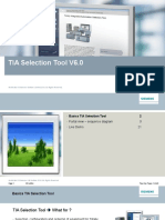 TIA Selection Tool