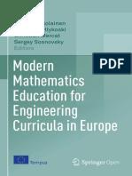 Modern Mathematics Education