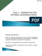 Aula 2 - Sistemas Agroindustriais