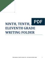 9th 10th 11th Writing Folder.pdf