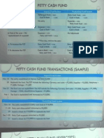 Petty Cash Fund Notes