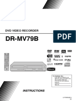 JVC DVD Video Recorder DR-MV79B