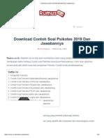 Download Contoh Soal Psikotes 2019 Dan Jawabannya