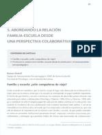 Ramon Almirall ABORDANDO LA RELACIÓN FAMILIA-ESCUELA DESDE UNA PERSPECTIVA COLABORATIVA