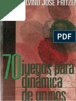 70 juegos para dinámicas de grupo