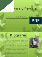 La Deconstrucción de la Razón y de la Ética o el AntiHumanismo de F.Nietzsche (1844-1900).