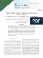 Journal of Molluscan Studies (2013) 0 1–7. Doi10.1093molluseyt047