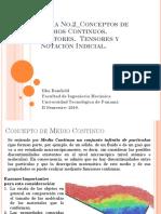 Tema No.2 Vectores, Tensores  y Notación Indicial._2018 pptx.pdf