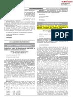 CONTRALORIA 2019-08-07 Modifican Directiva 007-2019-CG.norm Servicio de Control Específico a Hechos Con Presunta Irregularidad