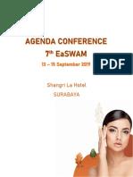 Agenda Conference 7th EaSWAM