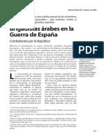 Brigadistas árabes en la Guerra de España