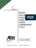 ARI 550.590 -1998 - IPLV Rating.pdf