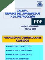 Teoría del Aprendizaje y la Instrucción