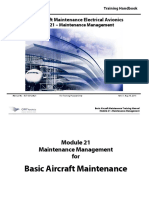 A21. Maintenance Management