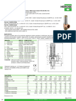 Process Datasheet for Relief Valve