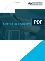 Certified E-Commerce Professional Old Brochure